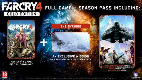 خرید اکانت بازی Far Cry 4 Gold Edition/Season Pass