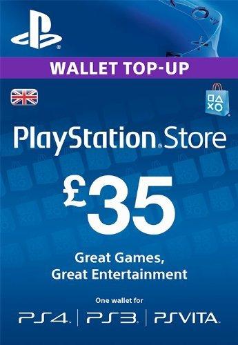Playstation Network (PSN) 35GBP UK