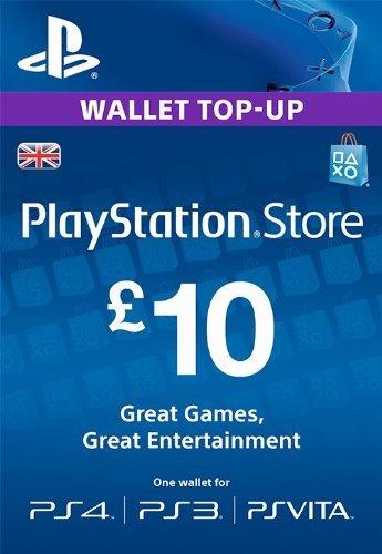 Playstation Network (PSN) 10GBP UK