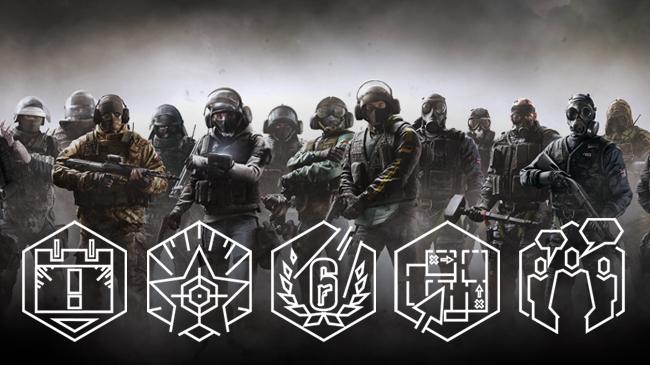 خرید اکانت بازی Tom Clancy's Rainbow Six Siege لول +100