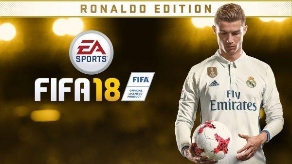 خرید اکانت بازی FIFA 18 Ronaldo Edition