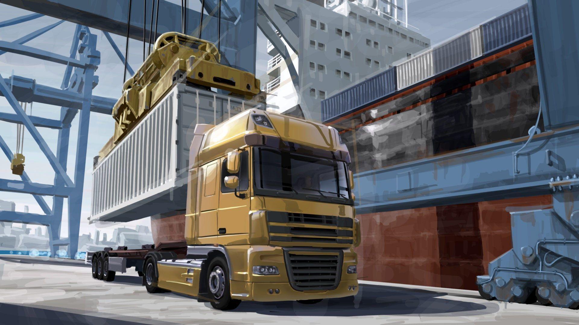 سی دی کی اریجینال استیم بازی Euro Truck Simulator 2