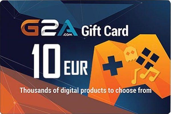 G2A Gift Card Global 10 EUR