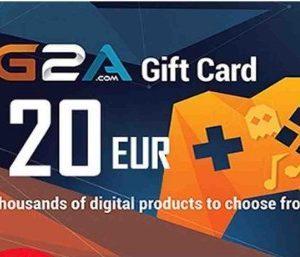 G2A Gift Card Global 20 EUR