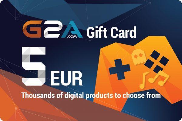 G2A Gift Card Global 5 EUR