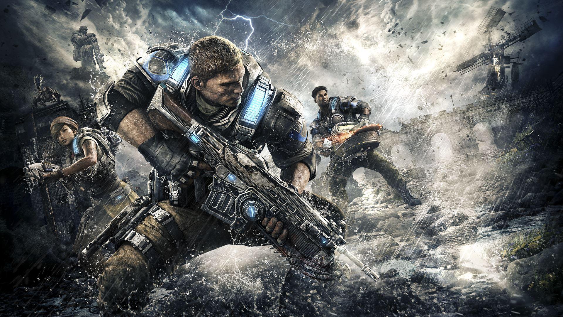 Gears Of War 4 Xbox Live/Win10 Key | Region Free | Multilanguage