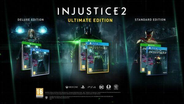 Injustice 2 Ultimate Edition Steam Key   Region Free   Multilanguage
