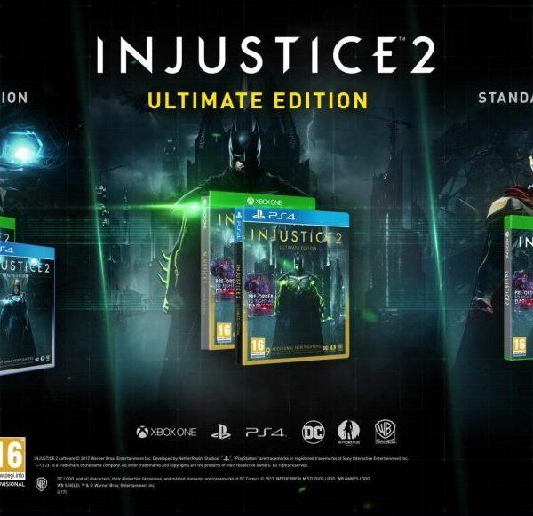 Injustice 2 Ultimate Edition Steam Key | Region Free | Multilanguage