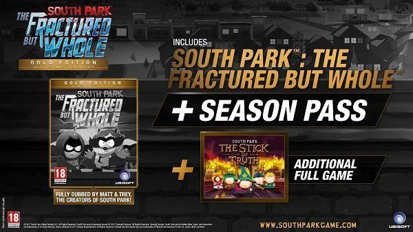 خرید اکانت بازی South Park The Fractured But Whole Gold Edition/Season Pass