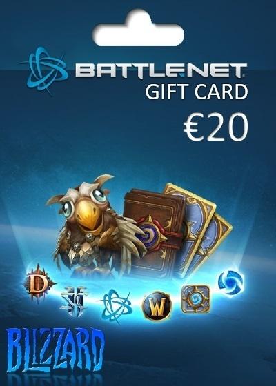 Blizzard Gift Card Europe 20 EUR