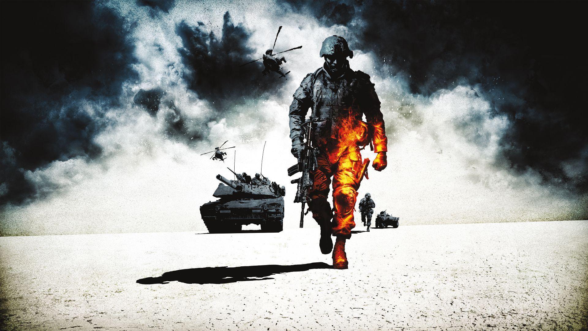 سی دی کی اریجینال بازی Battlefield: Bad Company 2