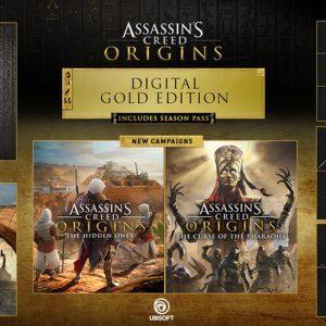 خرید اکانت بازی Assassins Creed Origins + Season Pass | با قابلیت تغییر ایمیل و پسورد