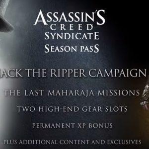 Assassins Creed Syndicate Season Pass Uplay Key | Region Free | Multilanguage