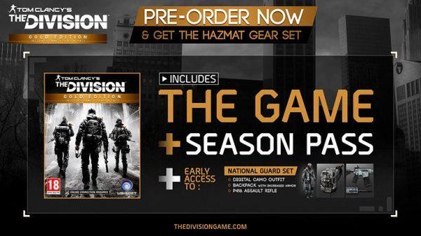 خرید سی دی کی بازی Tom Clancy's The Division Gold Edition