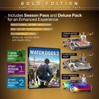 خرید سی دی کی اریجینال یوپلی بازی Watch Dogs 2 Gold Edition