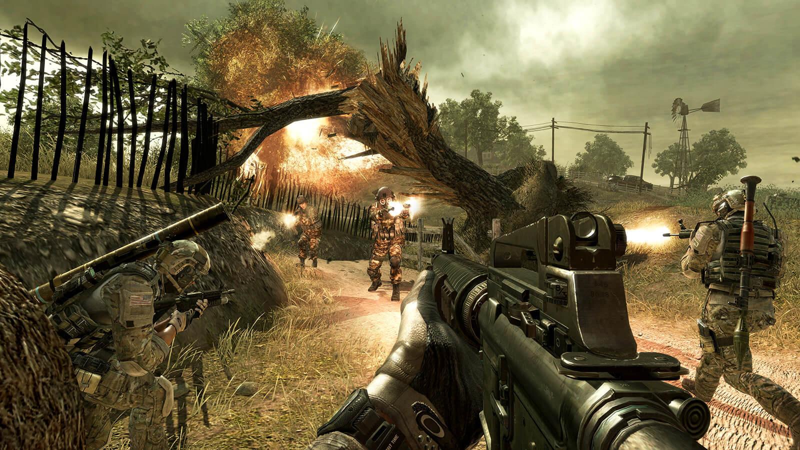 بازی Call Of Duty Modern Warfare 3