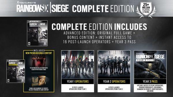 خرید استیم گیفت بازی Rainbow Six Siege Complete Edition
