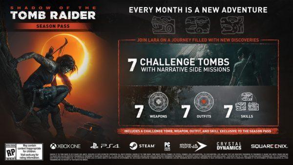 خرید استیم گیفت سیزن پس بازی Shadow Of The Tomb Raider