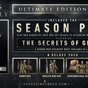 خرید سی دی کی اریجینال یوپلی بازی Assassins Creed Odyssey Ultimate Edition