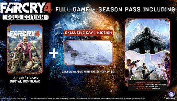 خرید سی دی کی اریجینال یوپلی بازی Far Cry 4 Gold Edition