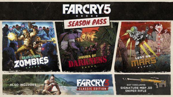 خرید سی دی کی سیزن پس یوپلی بازی Far Cry 5 - Season Pass