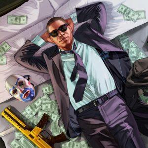 خرید پول بازی Grand Theft Auto Online | مبلغ 300 میلیون دلار با لول 120