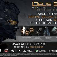 خرید اکانت اریجینال استیم بازی Deus Ex Mankind Divided Digital Deluxe Edition