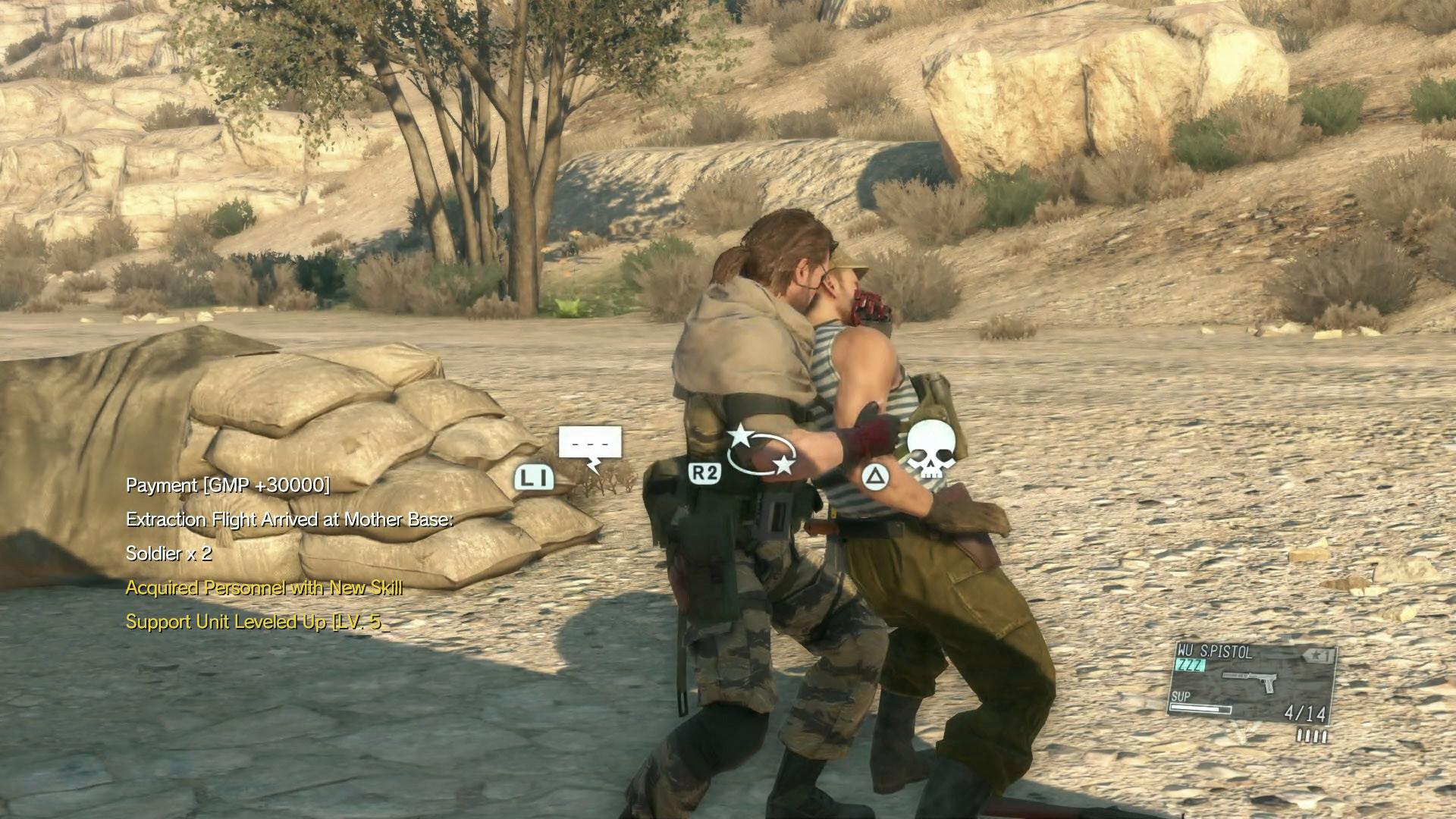 بازی Metal Gear Solid V The Phantom Pain
