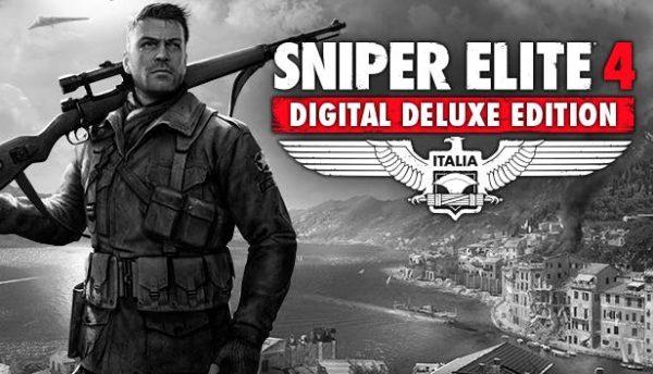 خرید اکانت اریجینال استیم بازی Sniper Elite 4 Deluxe Edition