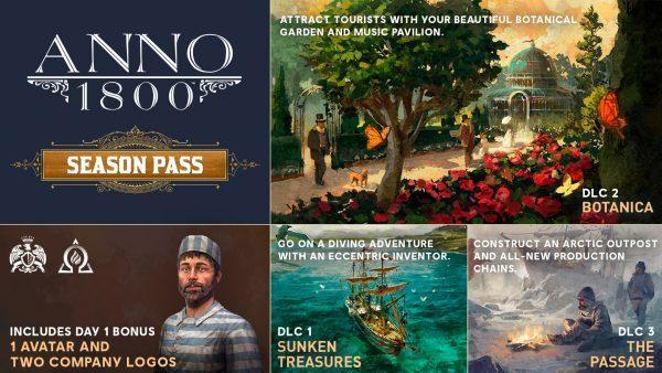 خرید اکانت یوپلی بازی Anno 1800 + Season Pass برای PC