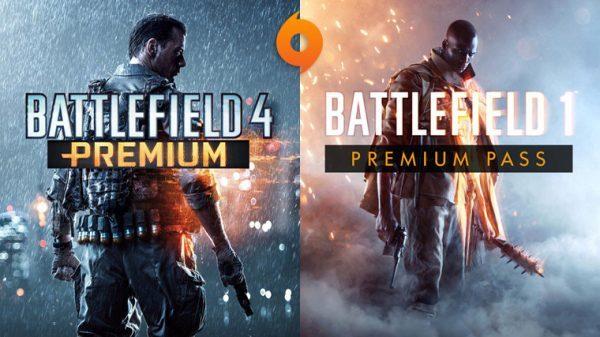 خرید اکانت بازی BF1 Premium + BF4 Premium   با ایمیل اکانت و امکان تغییر مشخصات