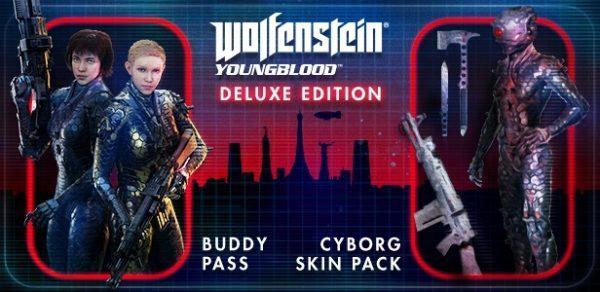 خرید سی دی کی اریجینال بازی Wolfenstein Youngblood Deluxe Edition