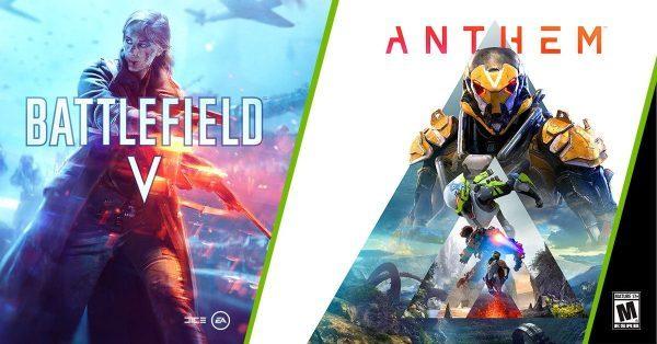 خرید اکانت بازی Anthem + Battlefield V   با ایمیل اکانت و امکان تغییر ایمیل و پسورد