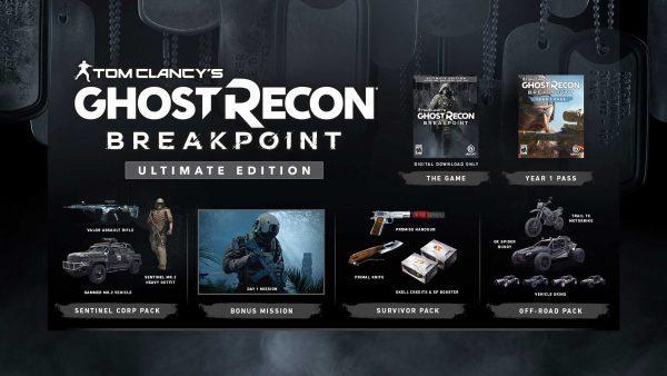 خرید اکانت یوپلی بازی Tom Clancys Ghost Recon Breakpoint Ultimate Edition