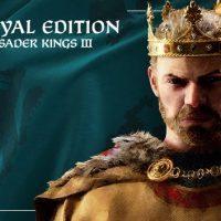 سی دی کی اریجینال استیم بازی Crusader Kings III Royal Edition
