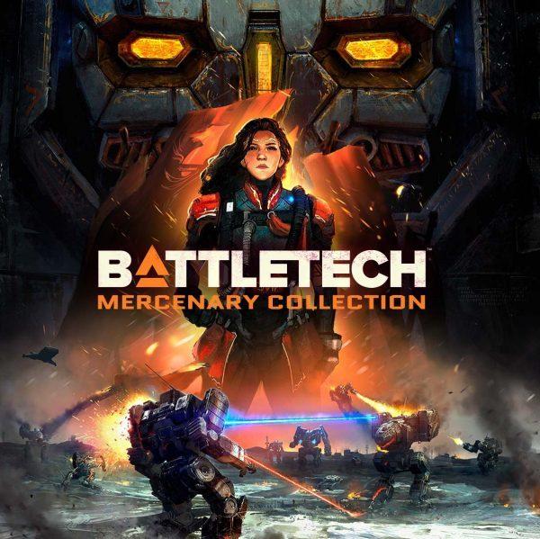 سی دی کی اریجینال استیم بازی BATTLETECH Mercenary Collection