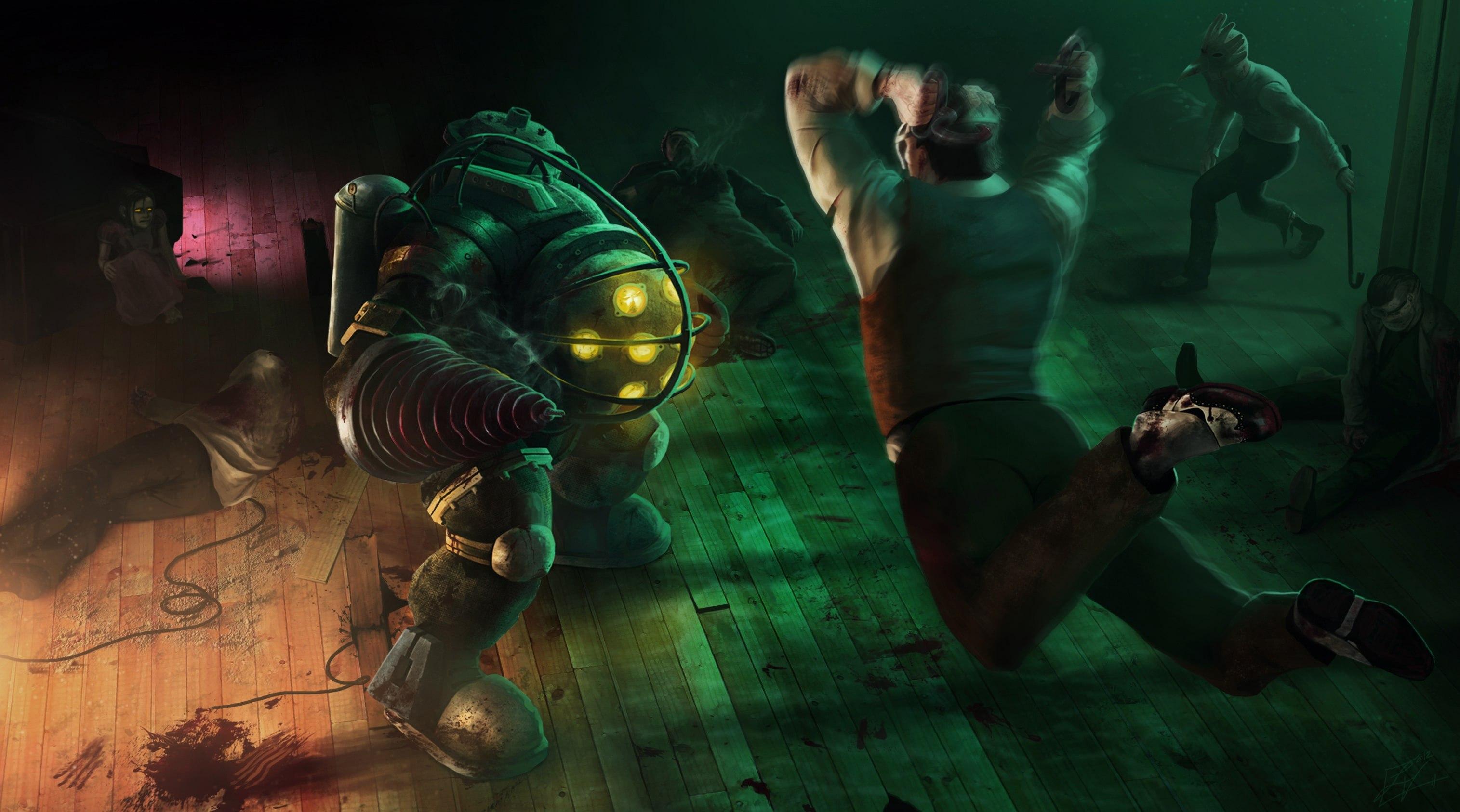 سی دی کی اریجینال استیم بازی BioShock 2 Remastered