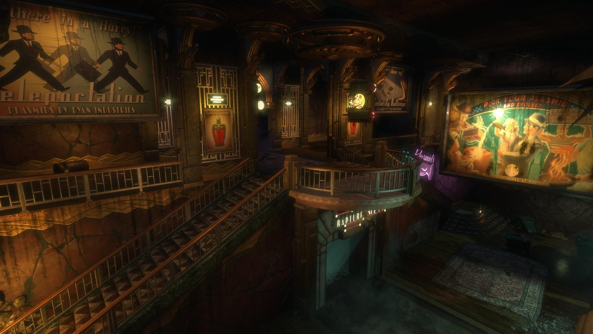 سی دی کی اریجینال استیم بازی BioShock Remastered