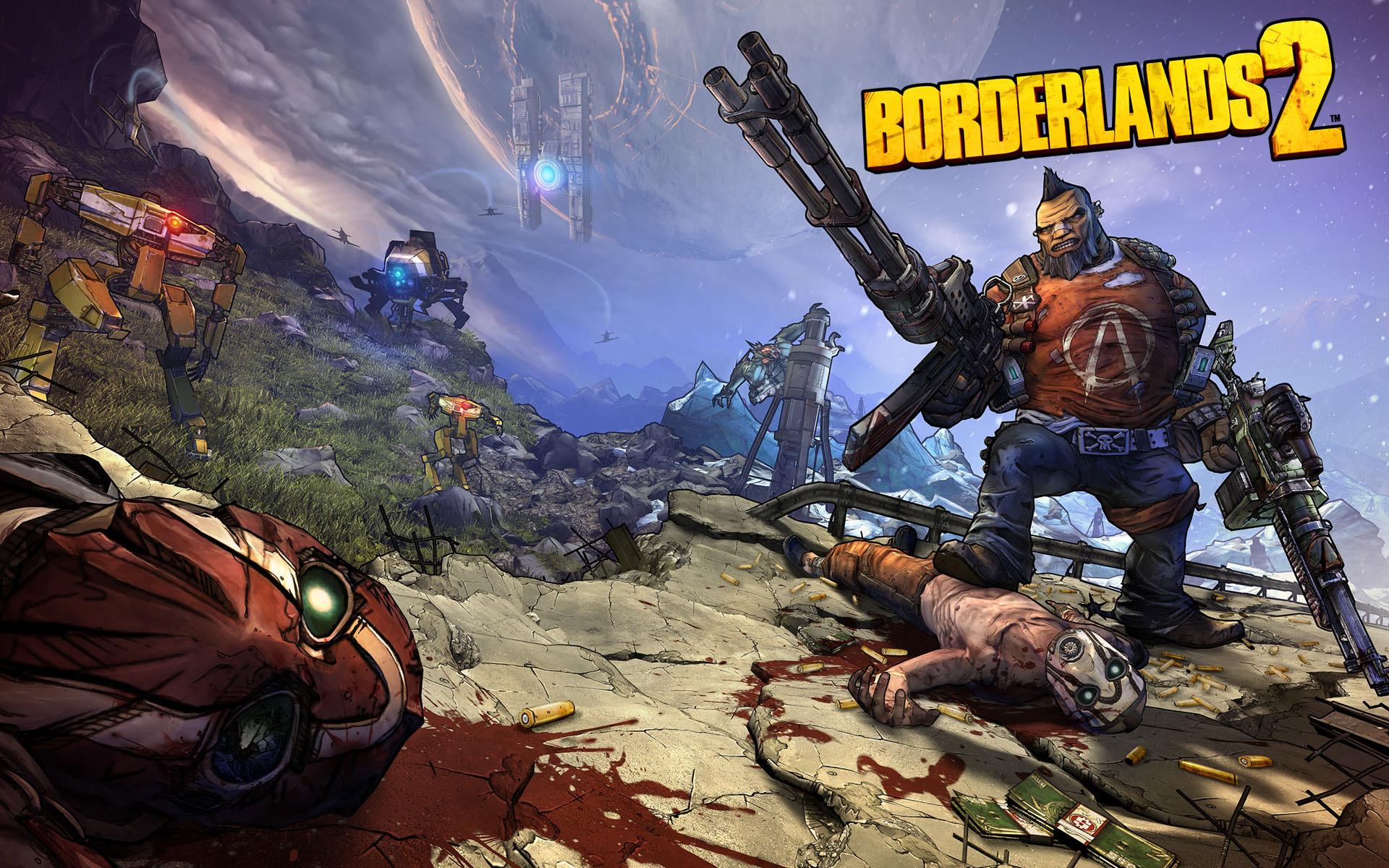 سی دی کی اریجینال استیم بازی Borderlands 2 GOTY