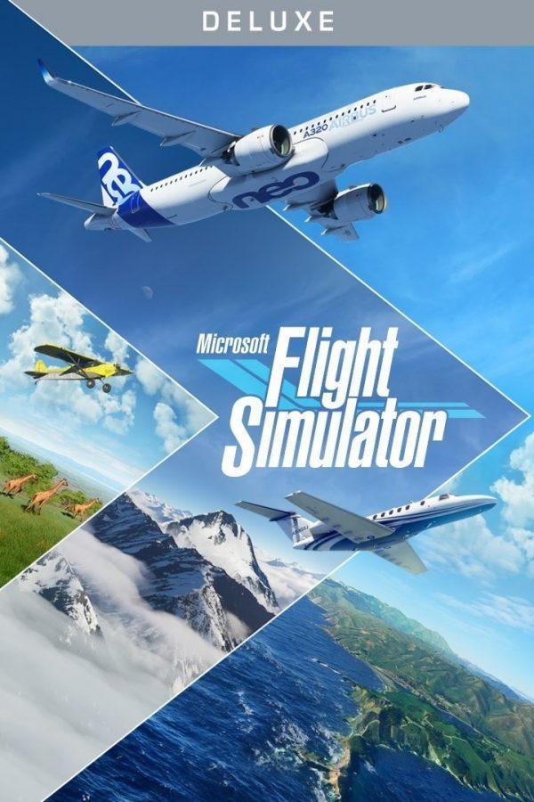 سی دی کی اریجینال Xbox Live/ویندوز10 بازی Microsoft Flight Simulator Deluxe Edition