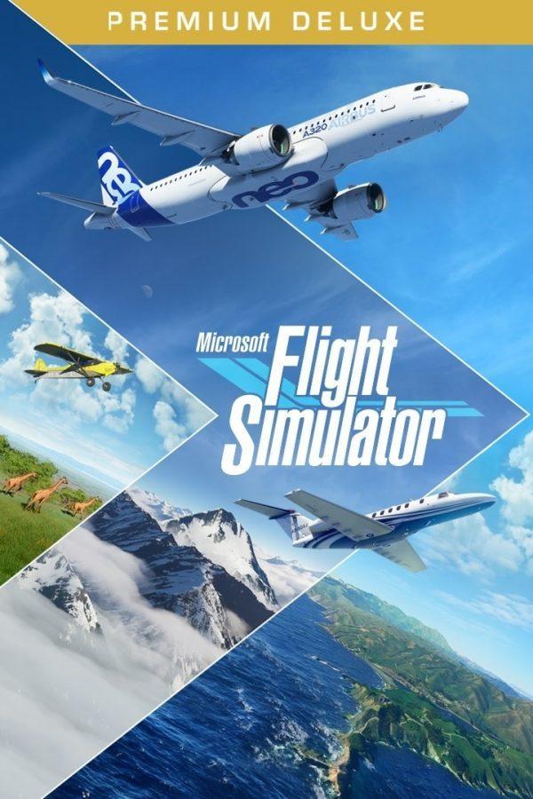 سی دی کی اریجینال Xbox Live/ویندوز10 بازی Microsoft Flight Simulator Premium Deluxe