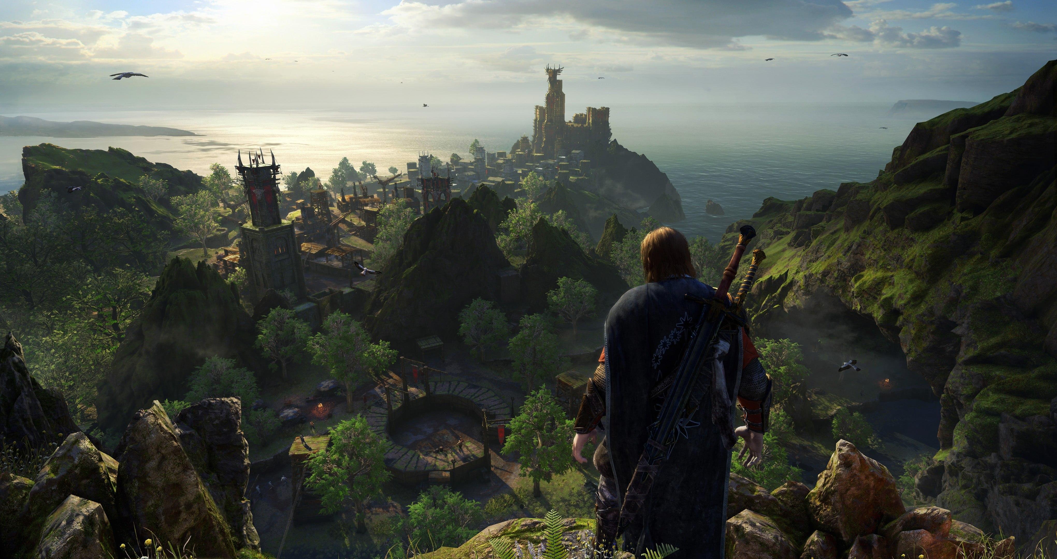 سی دی کی اریجینال استیم بازی Middle-earth: Shadow Of War - Definitive Edition