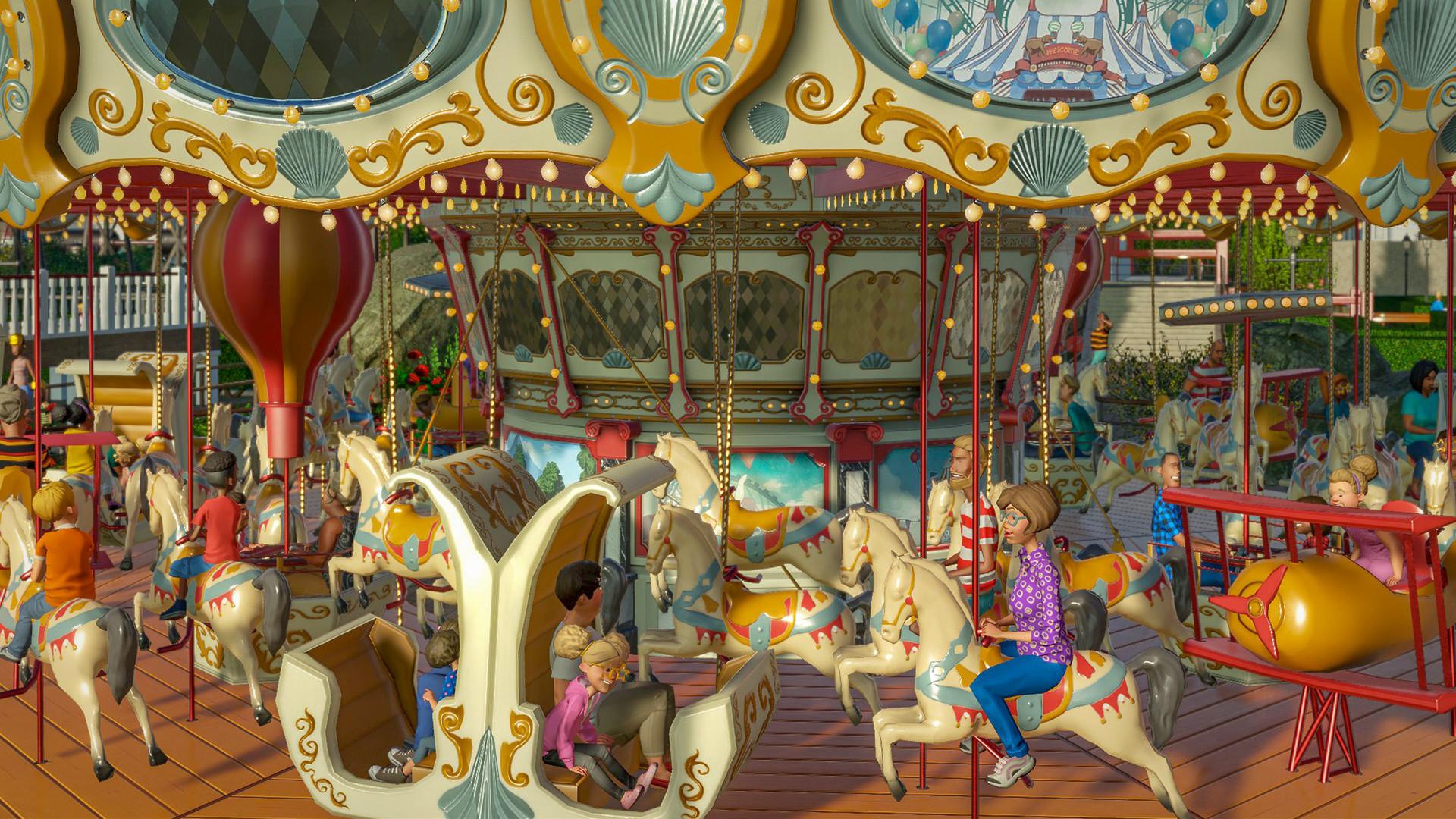 سی دی کی اریجینال استیم Planet Coaster - Magnificent Rides Collection