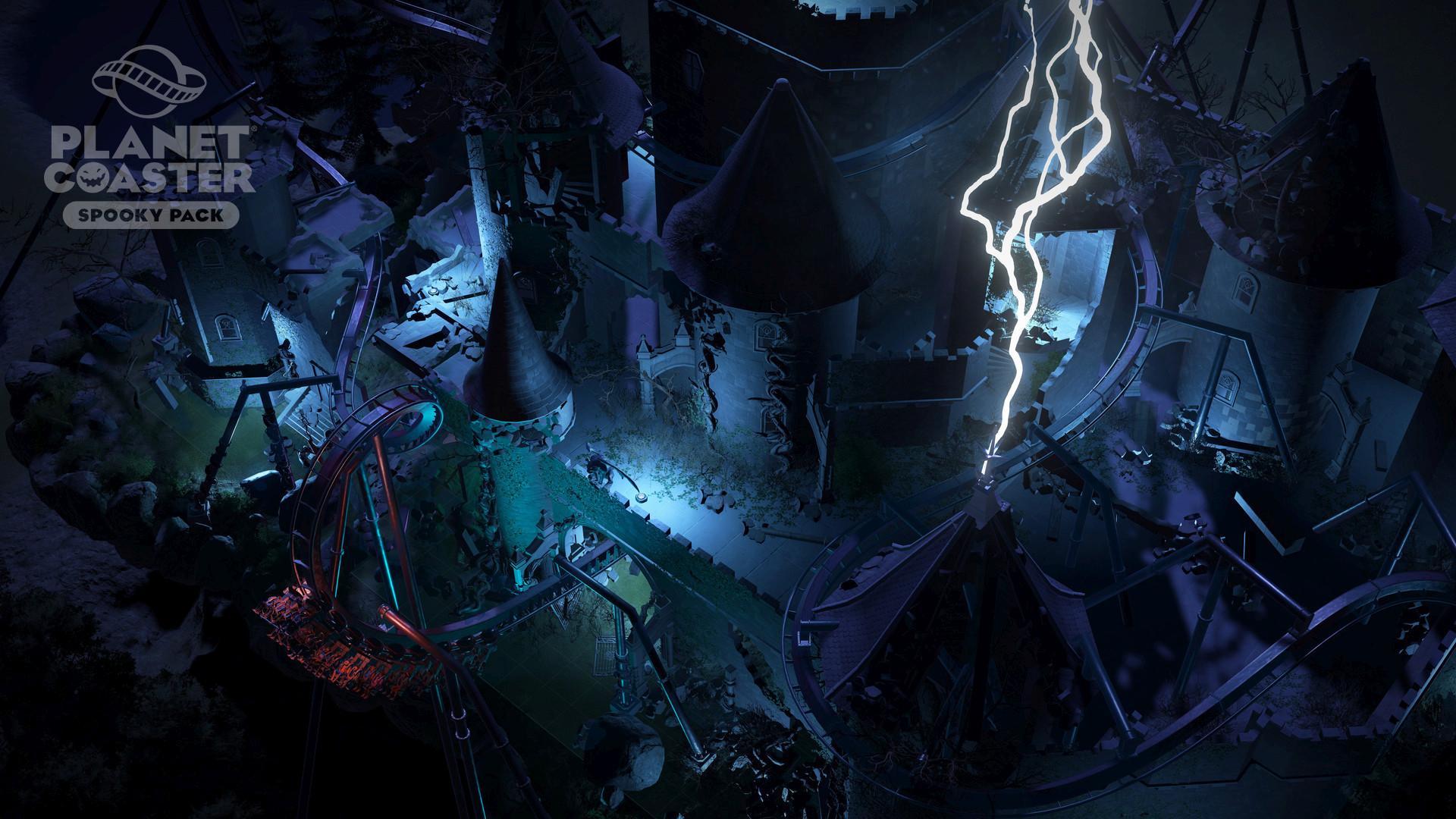 سی دی کی اریجینال استیم Planet Coaster - Spooky Pack
