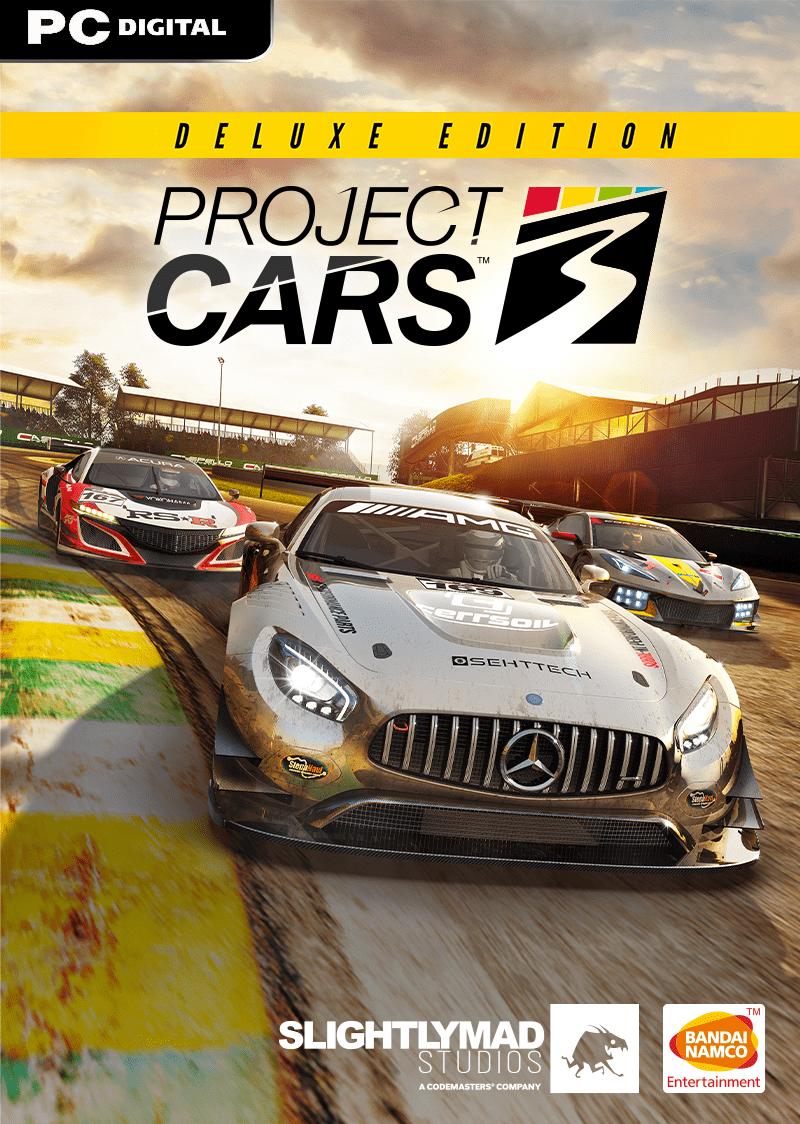 سی دی کی اریجینال استیم بازی Project CARS 3 Deluxe Edition