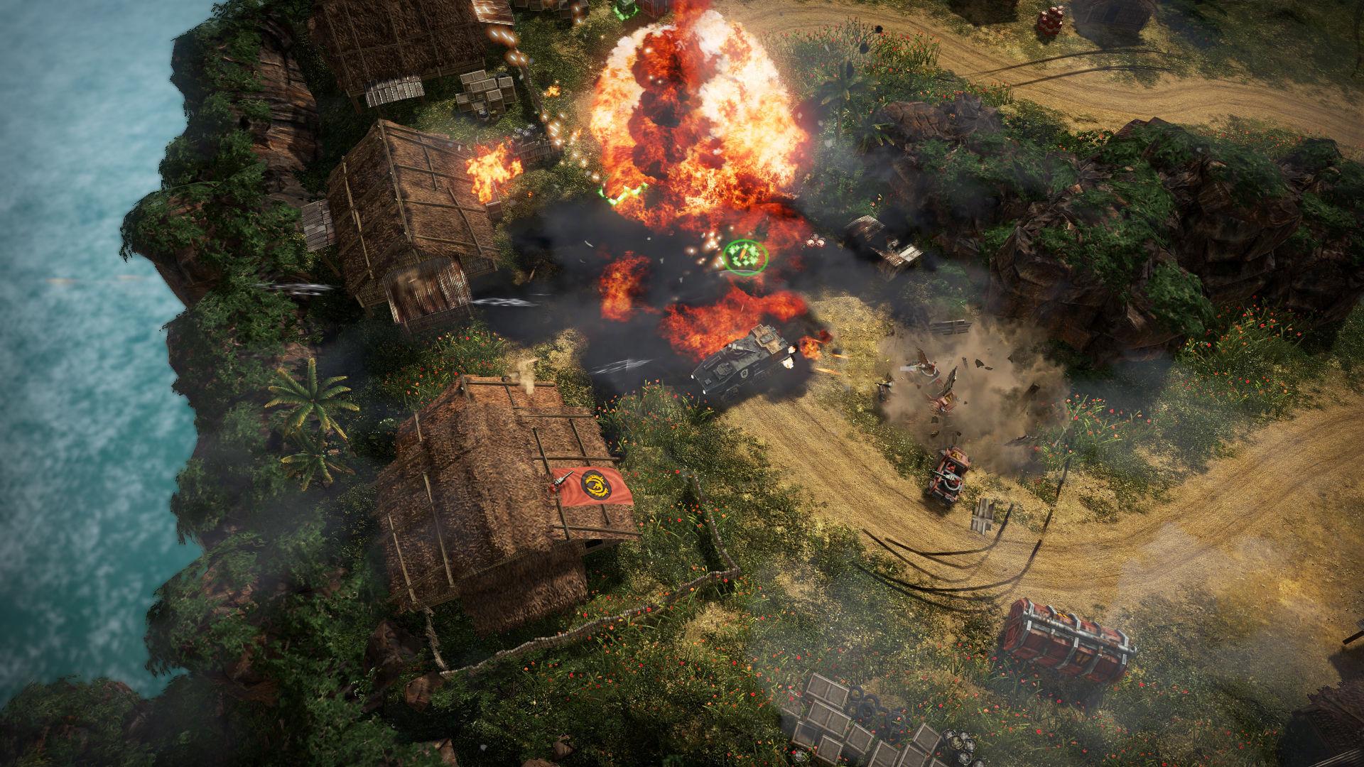 سی دی کی اریجینال استیم بازی Renegade Ops - Collection