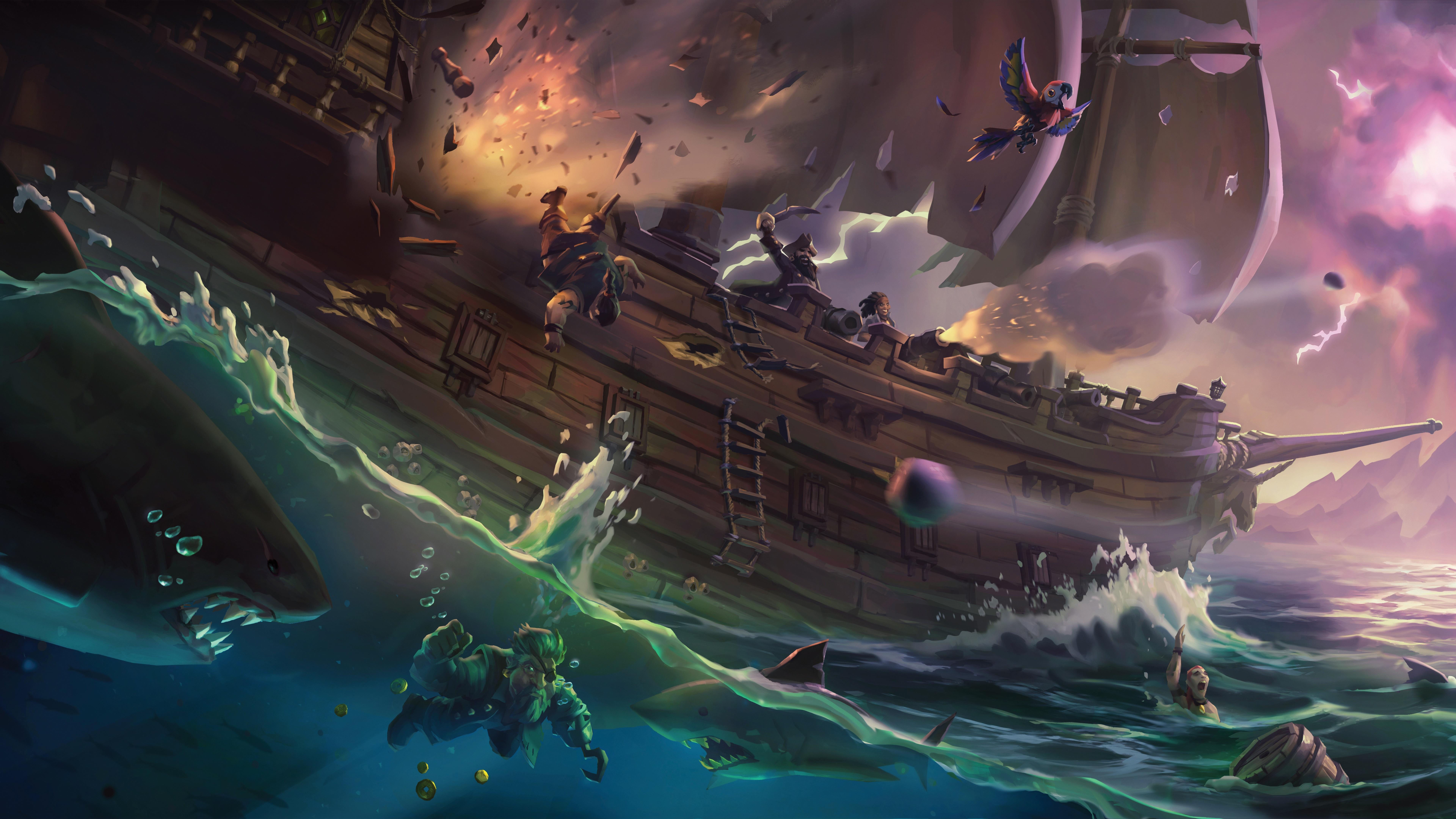 سی دی کی اریجینال بازی Sea Of Thieves Anniversary Edition | ایکس باکس/ویندوز 10