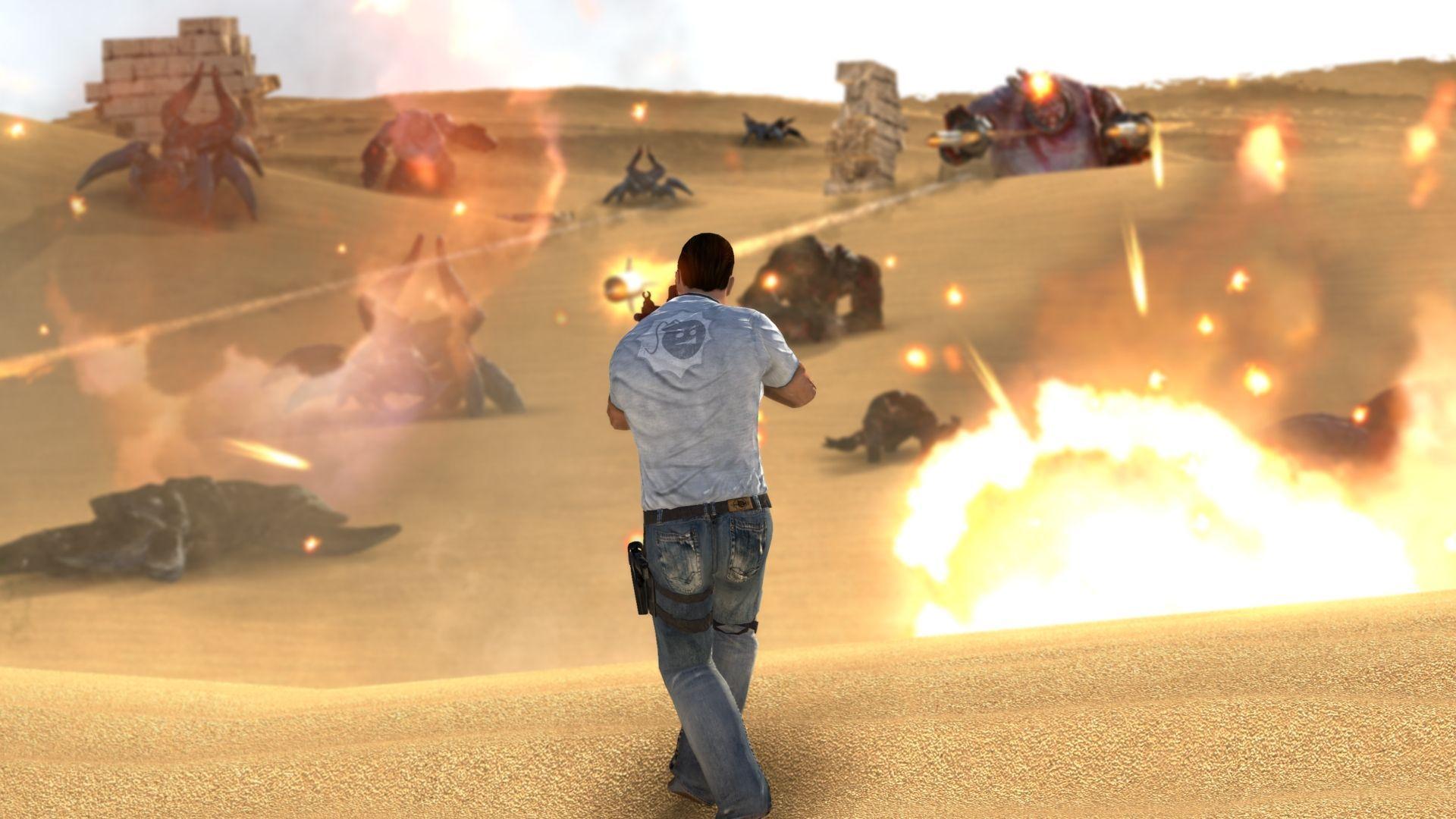 سی دی کی اریجینال استیم بازی Serious Sam 3: BFE - Gold Edition