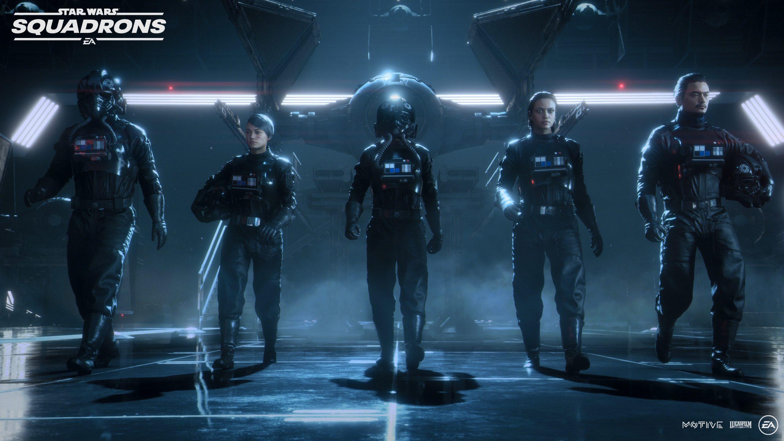 سی دی کی اریجینال Origin بازی Star Wars: Squadrons
