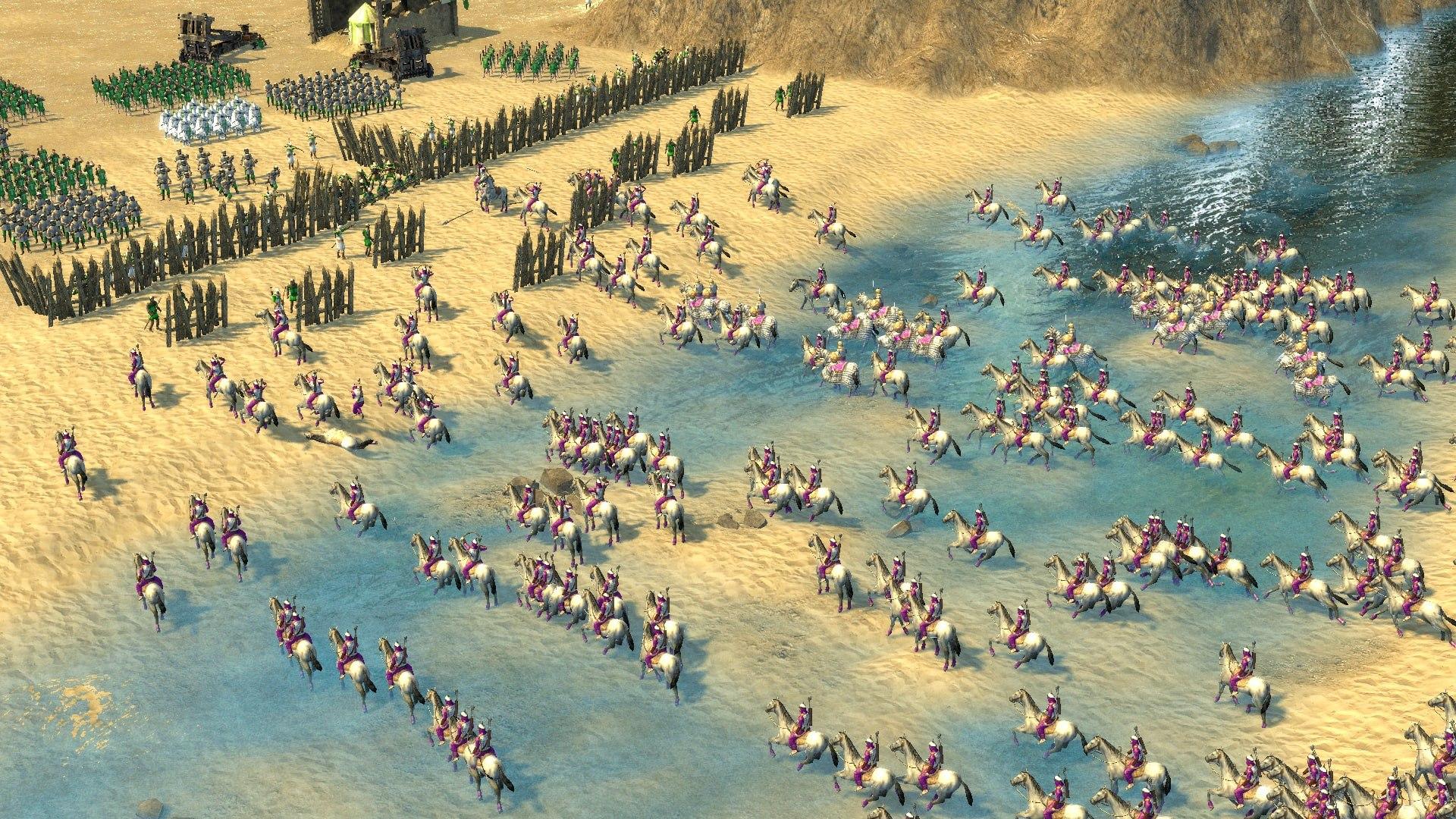 سی دی کی اریجینال استیم بازی Stronghold Crusader II